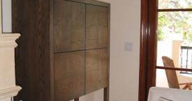 dharma cabinet cherry oak